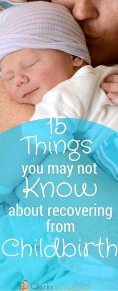 Tips for Postpartum Recovery from a mom of two - this is a must read for mothers giving birth to their baby in a hospital or at home - epidural or natural. These are truths you may not know about otherwise!