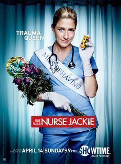 #NurseJackie - 5ªtemp. estreiou a 15 de Abril na Showtime