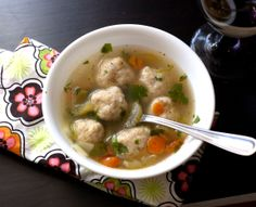 Vegan Matzo Ball Soup #passover #soup