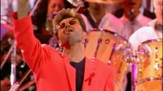Queen & George Michael - Somebody to Love live at Wembley in 1992, this is a good one because the audience become fully involved in the performance and it seems like a wonderful atmosphere.