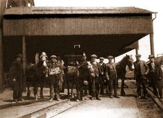 Clifton Colliery 1926 - Possibly during The General Strike