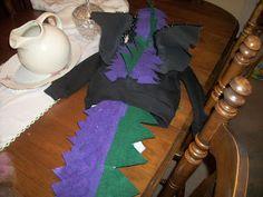 Super mom *without a cape*: Homemade No Sew Dragon Costume