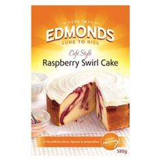 Check out edmonds cafe style cake mix raspberry swirl cake 580g at countdown.co.nz. Order 24/7 at our online supermarket
