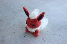 Flareon Amigurumi Crochet Plush Pokemon Eeveelution Doll by 53Stitches on Etsy