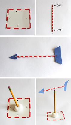 Learn About the Weather with a Homemade Weather Vane