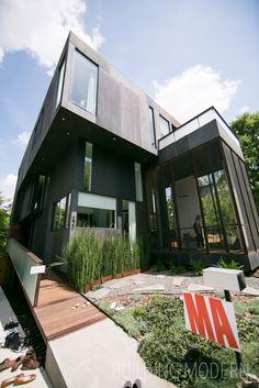Modern Atlanta Home Tour 2014: Florian-Hart House. 3,200 sq. ft. Architect: Brian Bell & David Yocum of Bldgs. Modern Atlanta Architecture.