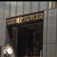 Trump Tower--You're Fired! Trump Tower, Living In New York, New York City, The Good Place, Nyc, Places, New York, Lugares