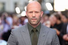 Learn more about one of the most famous bald men around, Mr Jason Statham. Statham is one of the many bald heroes for us all to look up to! Jason Statham Wife, Jason Statham Family, The Hollywood Reporter, Hollywood Actresses, Famous Bald Men, Bald Look, Guy Ritchie, Bald Man, Michelle Rodriguez