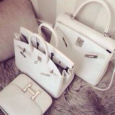 hermes all white everything ( birkin kelly constance ) handmade with original leather | order via email : 2653764383@qq.com wechat : alwaysclassy