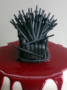 Game Of Thrones Birthday Cake cakepins.com