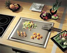 Teppanyaki - My Home Decor Corner Sofa And Chair, Plancha Grill, Kitchen Gadgets, Kitchen Appliances, Open Plan Kitchen Living Room, Hibachi Grill, Teppanyaki, Modern Kitchen Cabinets, Küchen Design