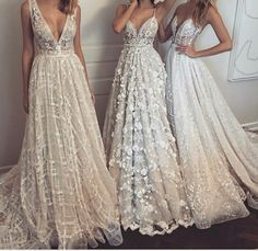 Preciosos estos 3 vestidos 😍