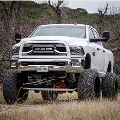 4th gen lifted double cab Ram with wideys