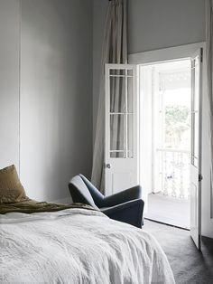 The Black Workshop minimal bedroom linens