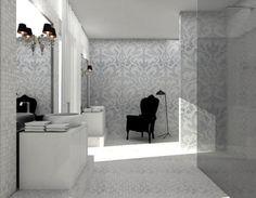 Baroque Bathroom contemporary bathroom