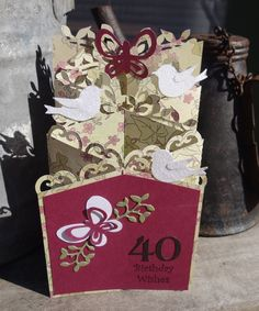 Birthday Cascade Card