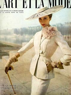 French fashion, 1950s