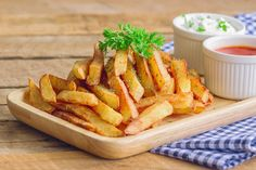 Thousands of Cuisinart Recipes Oven French Fries, Air Fryer French Fries, Crispy French Fries, French Fries Recipe, Perfect French Fries, Best French Fries, Making French Fries, Oven Roasted Steak, Roast Steak
