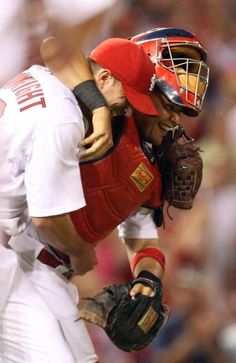 Yadier Molina & Wainwright - my favorites.                                                                                                                                                                                 More
