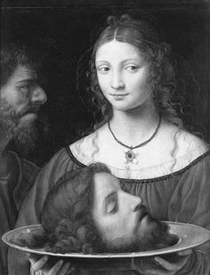 Bernardino Luini, Salomé with the Head of John the Baptist, first half of 16th century