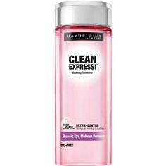 cool Maybelline New York Clean Express Classic Eye Makeup Remover, 4 Fluid Ounce