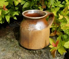 Wood-fired Faceted Mug by Split-Fire Pottery