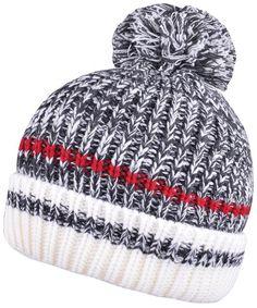 4190b53d8bf51 Winter Knit Beanie Skull Caps With Pom Pom Beanies For Women Mens Bobble Hat  Dark Gray CW187C09GWA