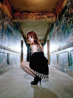Shirley Manson, lead singer of Garbage Shirley Manson, Girls Season 2, Stunning Redhead, Beautiful, Heavy Metal Girl, Stupid Girl, Rock Queen, Alternative Rock Bands, Women Of Rock
