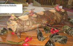 Adventslichter Hainbuche Natur XL von Adriani Lada  auf DaWanda.com