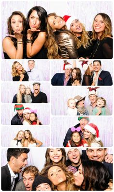 Tone It Up Holiday Party Photo Booth