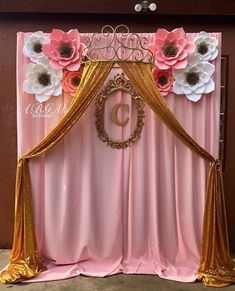 A beautiful flower backdrop made for Maribel's baby shower.💖🌸✨#princess #princesstheme #babyshower #paperflowers #babyshowerideas #babyshowerdecor #elegant #decor #decoraciondefiestas #paperflowersdecor #beautifulideas #beautifuldetails #beautifuldecor #cool #party #partytime #birthdaygirl #birthdayparty #partydecor #partyideas #beautiful #eventplanner #eventdecor #love #decoration #cute #amazing #abgmartdesign