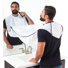 Hard-Working 120*80cm Male Mustache Catcher Cutting Waterproof Men Repair Beard Shaving Hair Cut Cloth Cleaning Bathroom Shaving Apron Novel Design; In