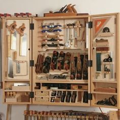 180 Best Woodworking Tool Cabinet Wall Images In 2019