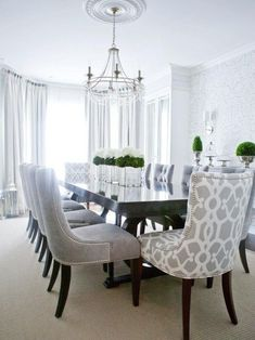 19 Graceful Dining Room Designs To Serve You As Inspiration - Modern-dining-room-decor-ideas