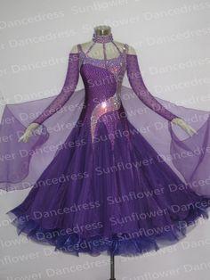 Modern Waltz Tango Ballroom Dance Dress, Smooth Ballroom Dress,Standard Ballroom Dress Girls ,Girls/Women Modern Dance Wear, US $249.00