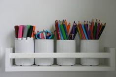 bekvam spice rack pen cups markers pencils organizer