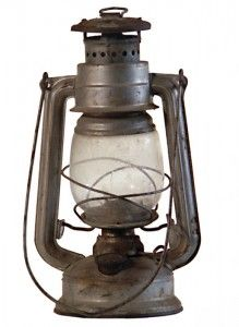 Hurricane Oil Lamp // designer umknown, ca. 1840