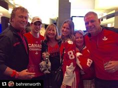 Nothin better than celebrating with your friends& family after a big win🇨🇦🏒❣️ Hockey World Cup, Team 8, Sidney Crosby, Pittsburgh Penguins, Friends Family, Nhl, Christmas Sweaters, Celebrities, Instagram Posts