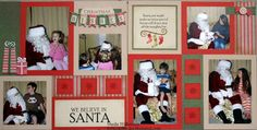 Scrapbooking and Other Tidbits: Pear & Partridge Holiday Scrapbook Layouts