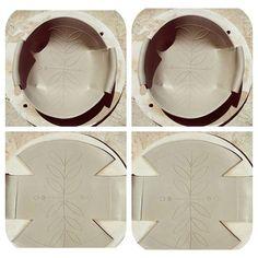Freefolding ceramic by Michal Ker..