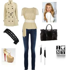 New York City Outfit, created by sinkchel on Polyvore