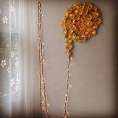 Pisca pisca + forminhas = flor