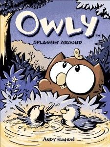 Owly.  Easily the most charming, all-ages book out there these days.