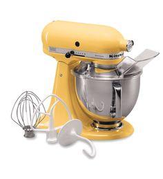 KitchenAid® Artisan® Series 5-Quart Tilt-Head Stand Mixer - majestic yellow