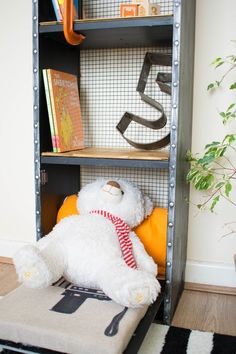 Upgrade Your Billy Bookcase With A Fun Industrial Look & Some Much Needed Teddy Bear Storage — Apartment Therapy Reader Submission Tutorials