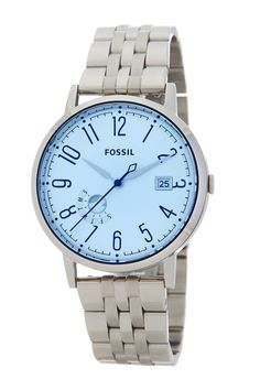 Image of Fossil Women's Vintage Muse Bracelet Watch Fossil Watches, Blue Crystals, Muse, Bracelet Watch, Vintage Ladies, Nordstrom Rack, Bracelets, Accessories, Jewelry