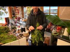 Deko-Tipp vom Weihnachtsprofi: ein Bäumchen von Hand - YouTube