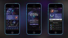 La aplicación League Friends; Cultura Geek League of Legends APP 1  https://play.google.com/store/apps/details?id=com.riotgames.mobile.leagueconnect