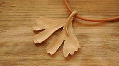 Wristbands & Bracelets – Miłorząb - naszyjnik – a unique product by Misarte on DaWanda