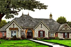 Houseplans.com...This is it! The house I have been searching for!!!!